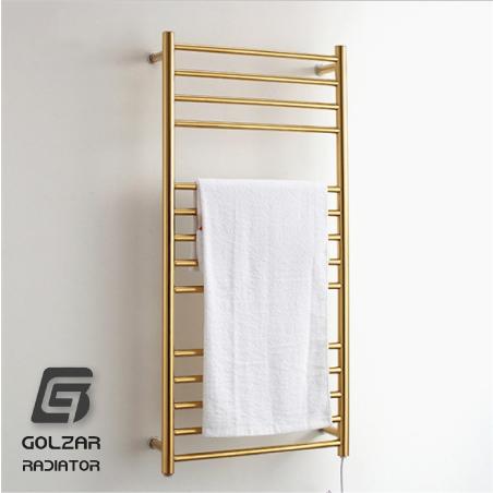 شوفاژ زینتی طلایی حمام