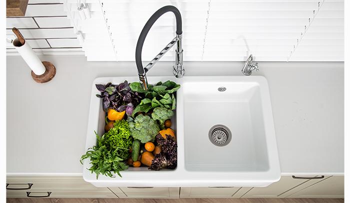 انواع سینک ظرفشویی به همراه راه مناسب نگهداری سینک آشپزخانه